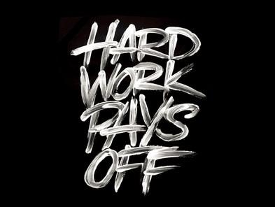 سخت کار کردن